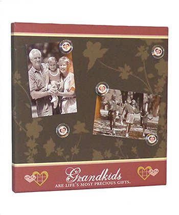 Brown 'Grandkids' Photo/Memo Board