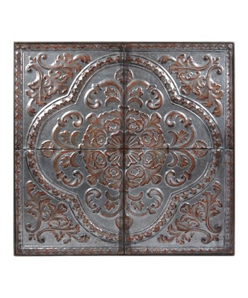 Metal Victorian Wall Plaque