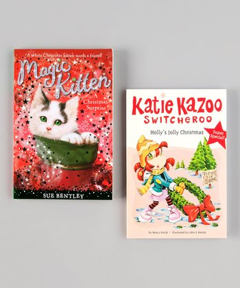 Katie Kazoo & Magic Kitten Paperbacks