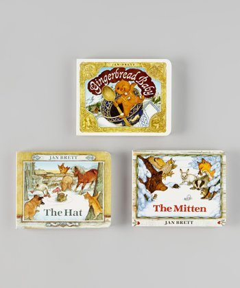 The Mitten, The Hat & Gingerbread Baby Board Books
