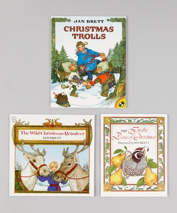 Christmas Trolls, Twelve Days & Christmas Reindeer Paperbacks