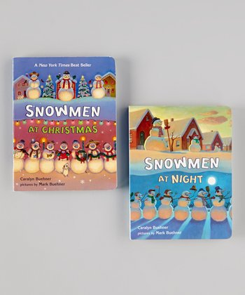 Snowmen at Christmas & Night Board Books