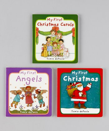 My First Christmas Board Book Set