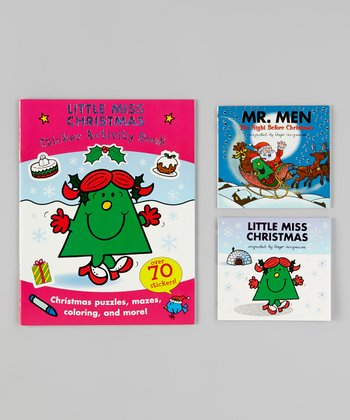 Little Miss Christmas Paperback Set