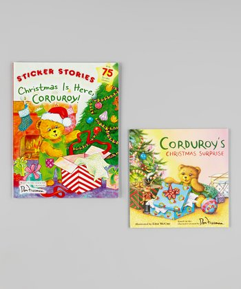 Christmas is Here, Corduroy! Paperback Set