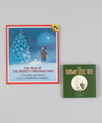 Perfect Christmas Tree Paperback & Scrawny Little Tree Hardcover