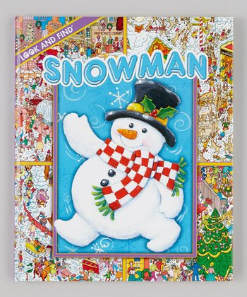 Look and Find: Christmas Snowman Hardcover