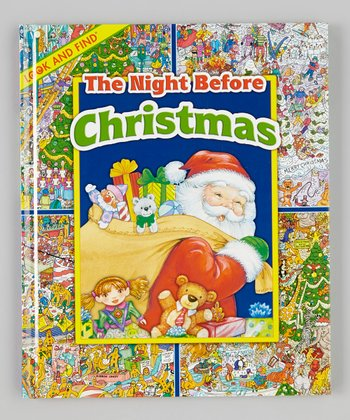 Look and Find: The Night Before Christmas Hardcover
