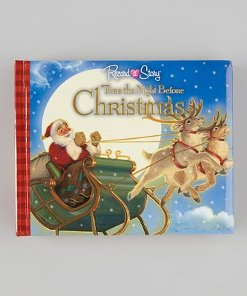 The Night Before Christmas Record-a-Story Padded Hardcover