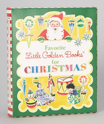 Favorite Little Golden Books for Christmas Hardcover Boxed Set
