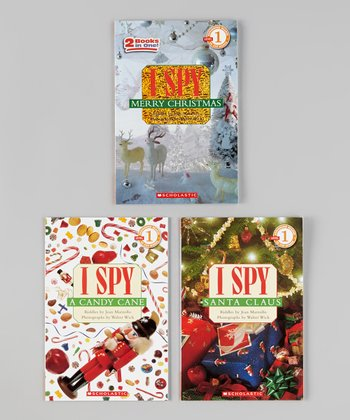 I Spy Christmas Paperback Set