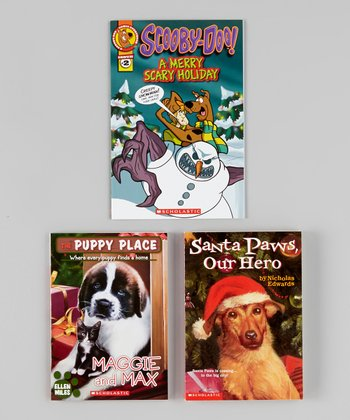 Scooby-Doo, Santa Paws & Puppies Paperback Set