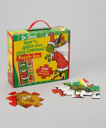 How the Grinch Stole Christmas Giant Floor Puzzle