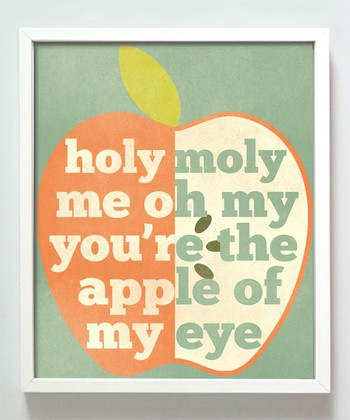 'Apple of My Eye' Print