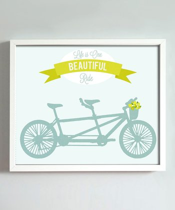 Bicycle 'Beautiful Ride' Print