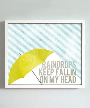 'Raindrops' Print