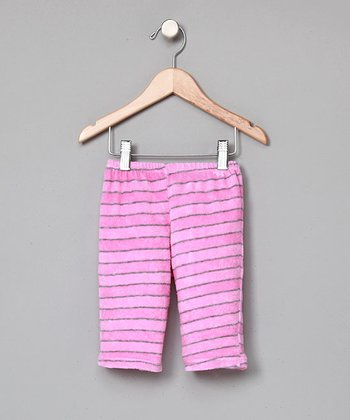 Pink Organic Terry Pants - Infant
