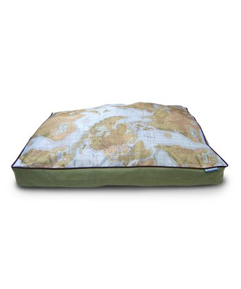 Sycamore World Viaggio Burlap Gusset Dog Bed