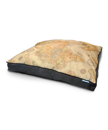 Black World Viaggio Burlap Gusset Dog Bed
