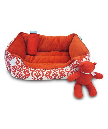 Lipstick Dog Bed Set
