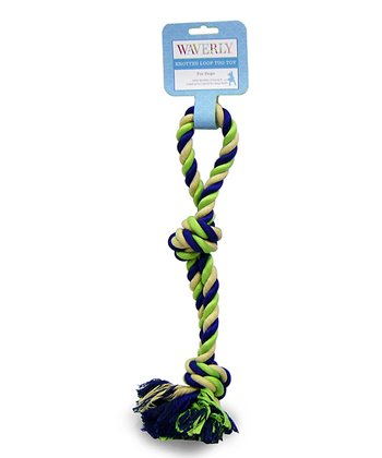 Green Infinity Rope Toy