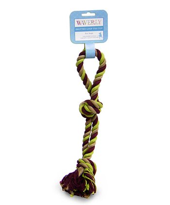 Red Infinity Rope Toy