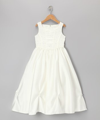 Ivory Princess Dress - Girls
