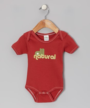 Cranberry 'All Natural' Organic Bodysuit - Infant