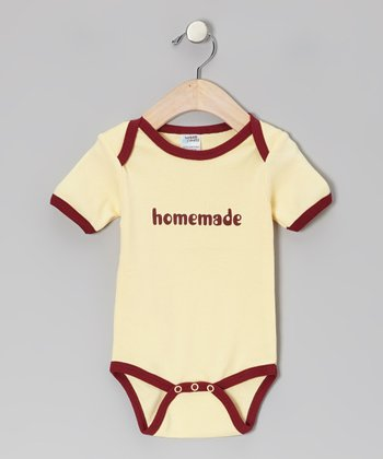Yellow 'Homemade' Bodysuit - Infant