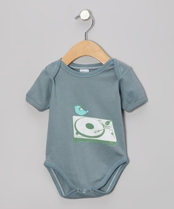 Slate DJ Bird Organic Bodysuit - Infant