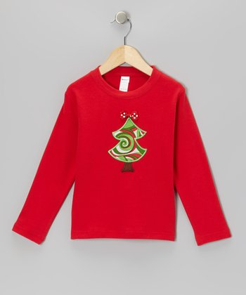 Red Tree Tee - Toddler