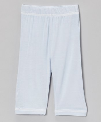 Light Blue Organic Yoga Pants - Infant