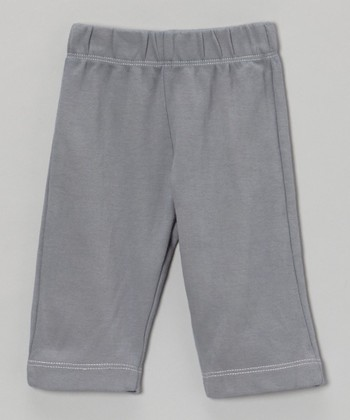 Slate Organic Yoga Pants - Infant