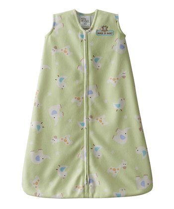 Lime Animal Friends HALO SleepSack