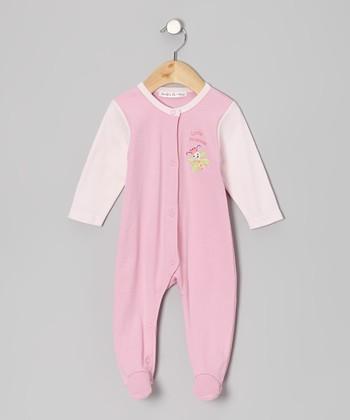 Rumble Tumble Pink 'Little Princess' Footie - Infant