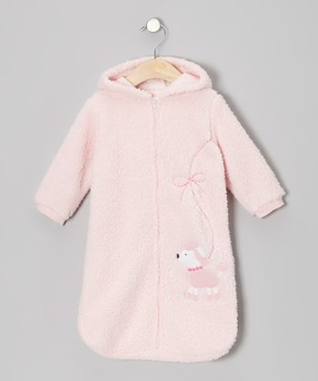 Rumble Tumble Pink Poodle Bunting Bag - Infant