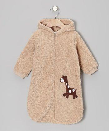 Rumble Tumble Brown Giraffe Bunting Bag - Infant
