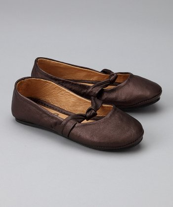 Brown Cinnamon Spice Ballet Flat