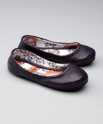 Dark Purple Grape Fizz Ballet Flat