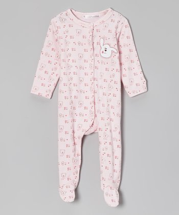 Rumble Tumble Pink Puppy Footie - Infant