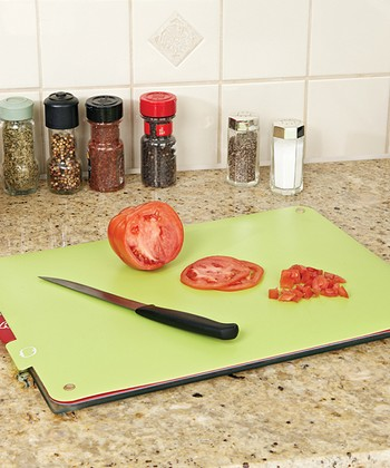 Glass Cutting Board & Pad Set