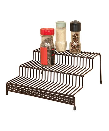 Rust Infinti Link Three-Tier Spice Rack