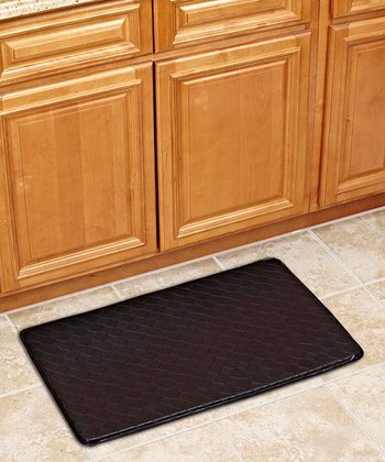 Black 30'' Anti-Fatigue Kitchen Mat
