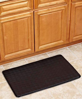 Black 36'' Anti-Fatigue Kitchen Mat