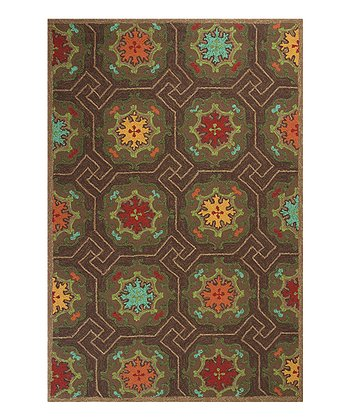 Mocha Mosaic Indoor/Outdoor Rug