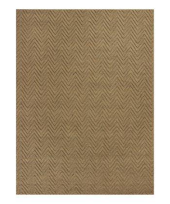 Natural Herringbone Rug