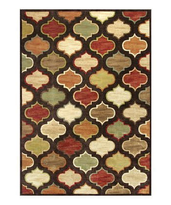 Mocha Arabesque Rug