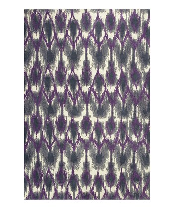 Gray & Purple Horizon Rug