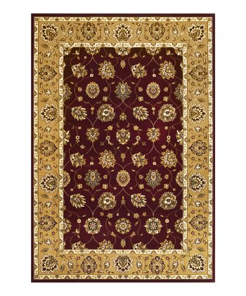 Red & Beige Tabri Rug