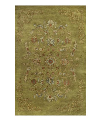 Pistachio Marrakesh Wool Rug